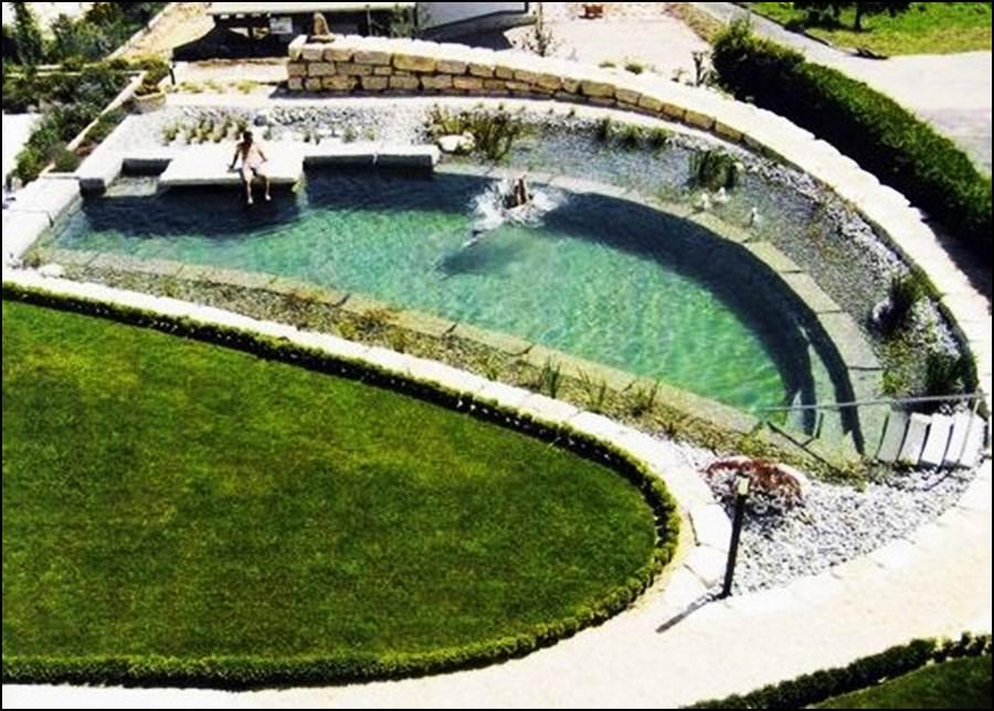 Vista piscina exterior